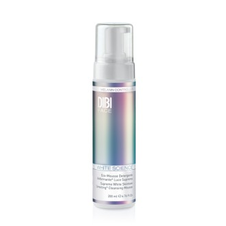 ECO-MOUSSE LIMPIADORA HOMOGENEIZADORA LUZ SUPREMA WHITE SCIENCE 200 ml. DIBI Milano