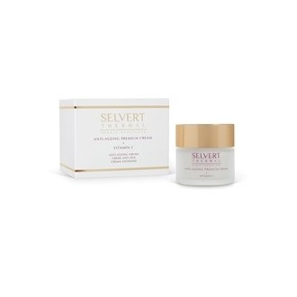 Anti-ageing premium cream + vitamin C. Selvert thermal
